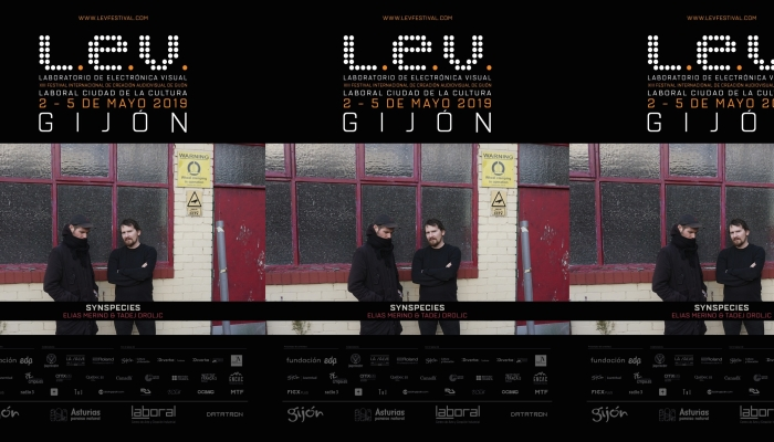 Synspecies World Premiere at L.E.V. Festival